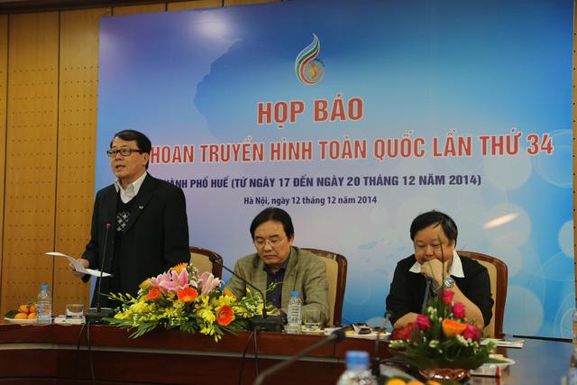 Ông Nguyễn Hà Nam - Trưởng Ban Thư ký biên tập - Phó Trưởng ban thường trực BTC Liên hoan THTQ.