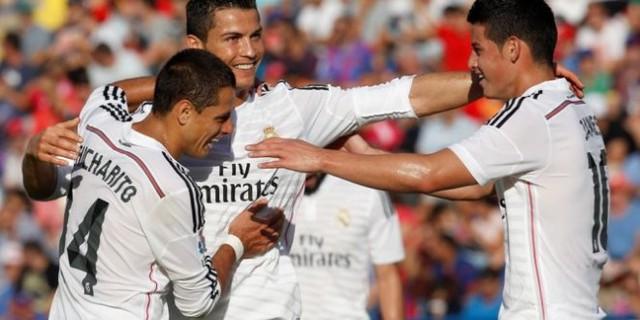 Ronaldo và các đồng đội đang có phong độ rất cao.