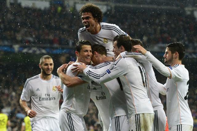 Real Madrid toàn thắng sau 5 lượt trận vòng bảng