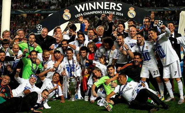 Real Madrid đang là đương kim vô địch của Champions League