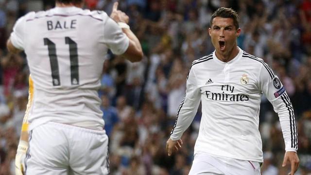 Ông vua Real Madrid có màn ra quân Champions League 2014/15 ấn tượng với chiến thắng 5-1 trước Basel.