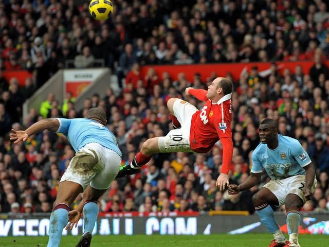 Rooney đã ghi đến 11 bàn trong 22 trận đấu với Man City trước đó