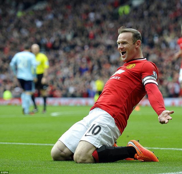 Rooney bỏ lỡ trận đại chiến với Chelsea vào ngày 26/10