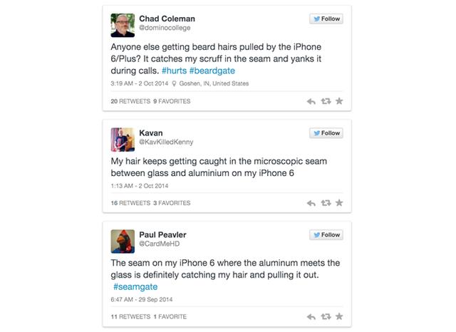 Những phàn nàn của người dùng về bộ đôi iPhone 6 trên Twitter