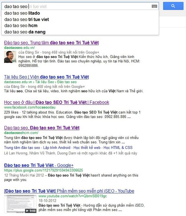 Google xem xét hơn 200 yếu tố trong chưa tới 1 giây