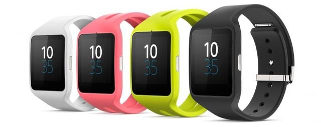 Smartwatch 3 có 4 màu sắc khác nhau để lựa chọn