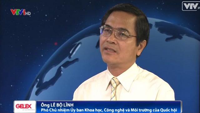 Ông Lê Bộ Lĩnh - Phó Chủ nhiệm Ủy ban Khoa học Công nghệ và Môi trường của Quốc hội