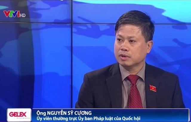 Ông Nguyễn Sỹ Cương - Ủy viên thường trực Ủy ban Pháp luật của Quốc hội