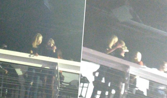 Bức ảnh đặt ra câu hỏi lớn về mối quan hệ giữa Taylor và Kloss cuối tuần qua.