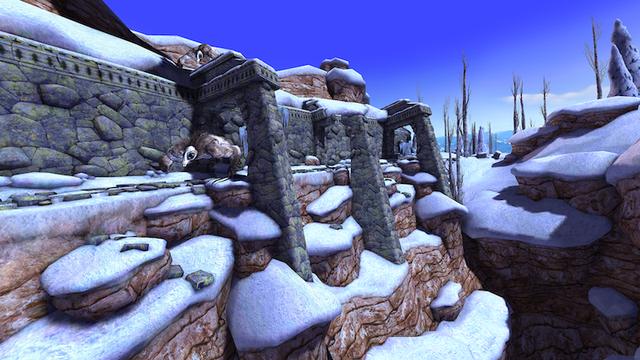 Kiến trúc cổ tuyệt đẹp trong trò chơi