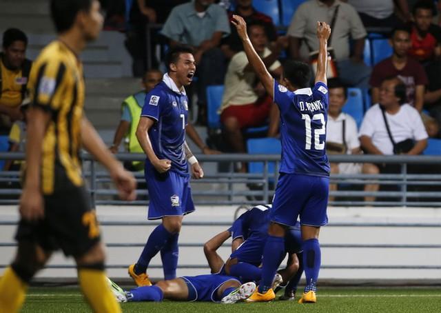 Thái Lan cũng chỉ cần thêm một trận hòa để chắc ngôi đầu bảng B