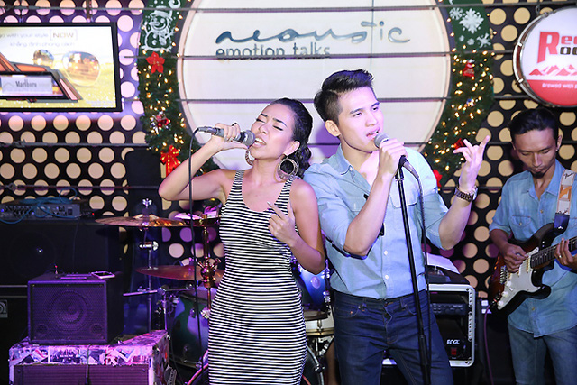 Phần song ca của Thảo Trang - Quốc Thiên hứa hẹn mang đến cho đêm diễn những cao trào.