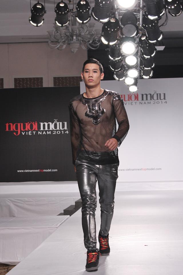 Thí sinh Lê Đăng Khánh (cao 1m86, đến từ TP.HCM)
