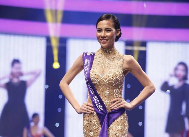 Lệ Quyên sinh năm 1993 đến từ Bạc Liêu. Cô cao 1m73 với số đo 3 vòng là 80 - 59 - 89. Trước khi tham gia cuộc thi, Lệ Quyên được biết đến với danh hiệu Siêu mẫu tài năng của cuộc thi Siêu mẫu 2013.