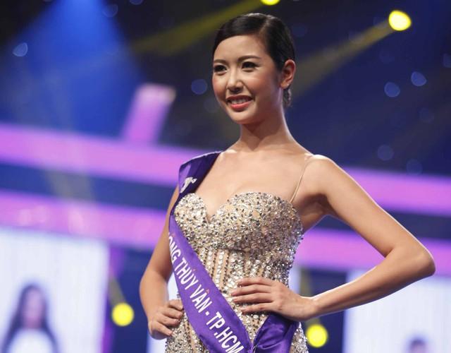 Thúy Vân sinh năm 1993, cô cao 1m72 với số đo 3 vòng là 82 - 60 - 90. Người đẹp đến từ Thành phố Hồ Chí Minh sở hữu nụ cười rạng rỡ và phong thái khá tự tin trên sân khấu. Trước khi đến với cuộc thi, Thúy Vân cũng từng hoạt động với tư cách người mẫu tự do.