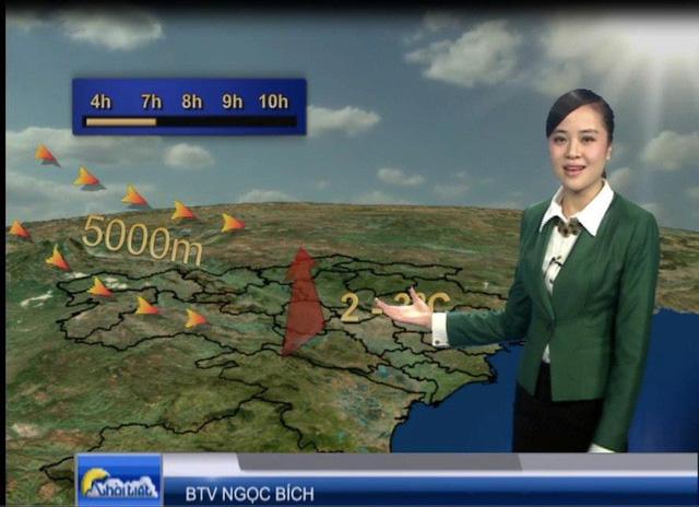 Những bản tin thời tiết của VTV đang ngày càng được đầu tư công phu hơn về mặt nội dung. (Ảnh minh họa)