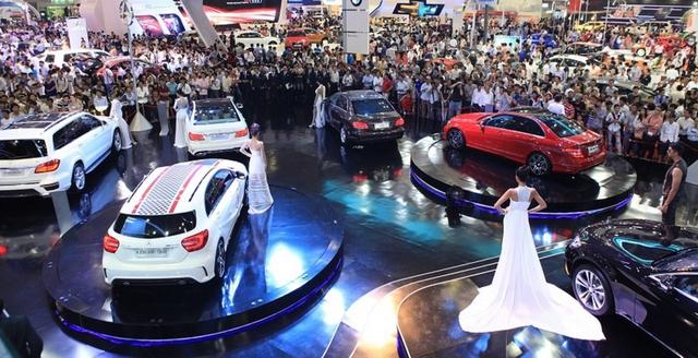 Triển lãm quy tụ hơn 100 mẫu xe từ 18 thương hiệu ô tô tại Việt Nam