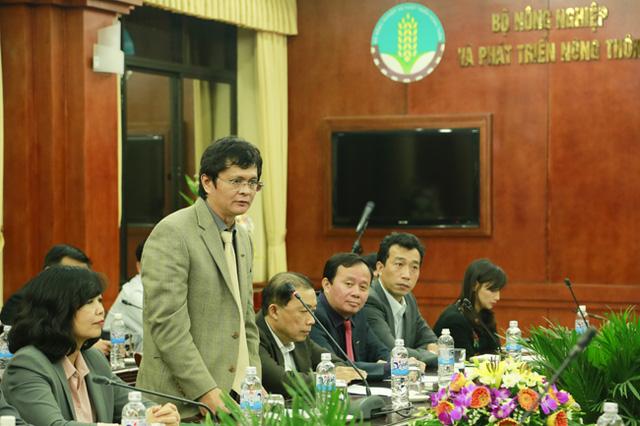 TGĐ Đài THVN, ông Trần Bình Minh, cam kết đẩy mạnh hiệu quả hơn nữa việc phối hợp tuyên truyền thông tin với Bộ NN&PTNT