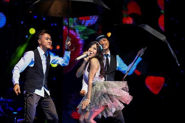 Ca sĩ trẻ Trang Pháp (ảnh: VTC)