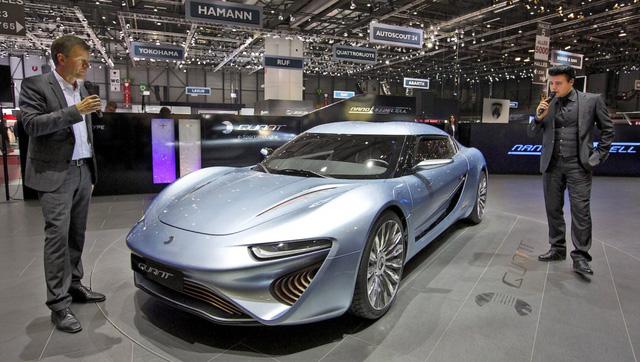 Quant e-Sportlimousine xuất hiện tại Triển lãm ô tô Geneva 2013