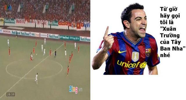 Xavi khóc thét đòi được gọi là Lương Xuân Trường của Barcelona và Tây Ban Nha