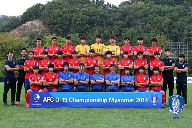 Đương kim vô địch U19 châu Á, đội tuyển U19 Hàn Quốc