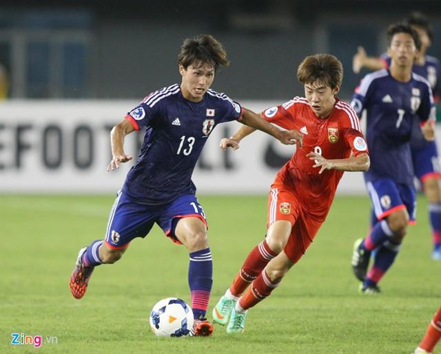Minamino Takumi giúp U19 Nhật Bản loại đội ĐKVĐ U19 Hàn Quốc.