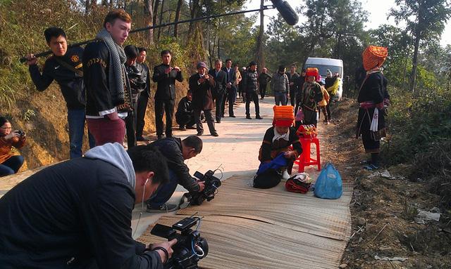 Anh Benjamin Walls được chứng kiếnđám cưới củangười Dao ở Mẫu Sơn, Lạng sơn.