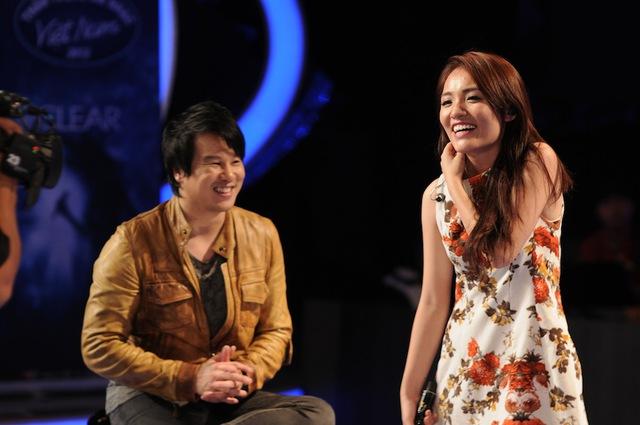 Thanh Bùi hướng dẫn Nhật Thủy - Quán quân Vietnam Idol mùa 5.