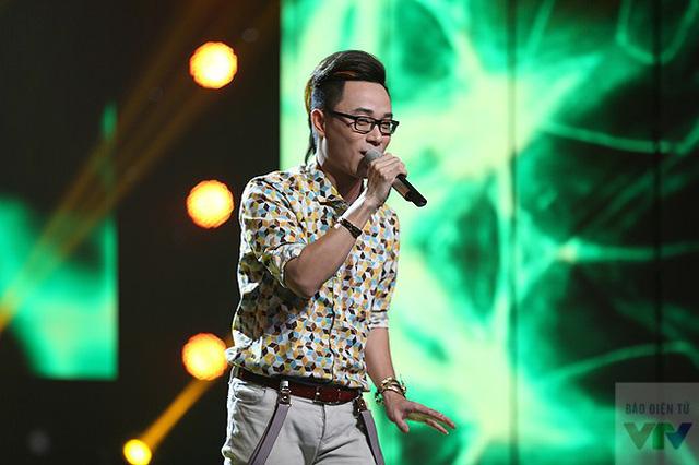 Nam ca sĩ Trúc Nhân, một trong những ca sĩ trẻ để lại nhiều dấu ấn trong năm 2014. Trúc Nhân đã được đề cử giải triển vọng tại giải Cống hiến.