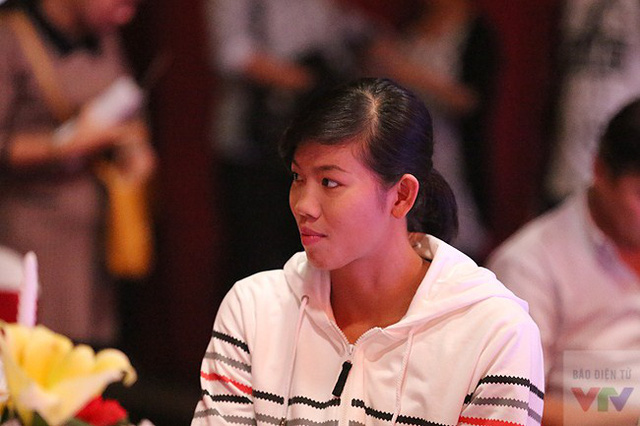 Vận động viên bơi lội Ánh Viên - cô gái vàng của Thể thao Việt Nam 2014.