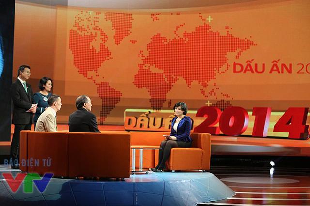 Sân khấu sẽ là một trong những ấn tượng của Dấu ấn 2014 khi chương trình lên sóng.