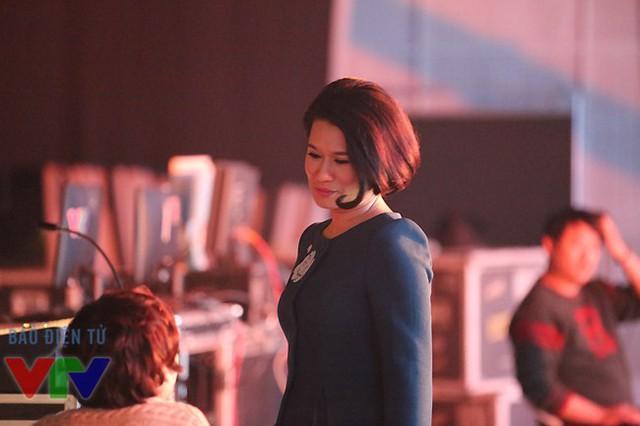 Nhà báo Thu Hà là gương mặt quen thuộc của chương trình Sự kiện & Bình luận của Ban Thời sự.