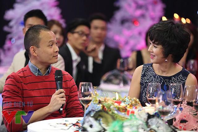 Đạo diễn Lại Bắc Hải Đăng - đạo diễn của Điều ước thứ 7 - trò chuyện với MC Diễm Quỳnh.