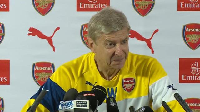 HLV Wenger tự tin trước cuộc đọ sức với Man City