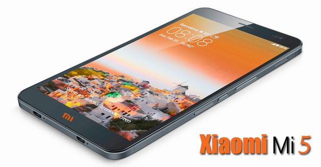Một mẫu thiết kế Xiaomi Mi 5
