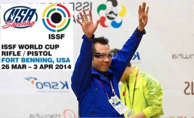 Hoàng Xuân Vinh đã thi đấu không tốt ở nội dung sở trường và sớm dứng bước ở vòng chung kết.