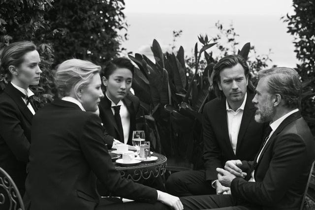Và ngôi sao người Áo từng giành giải Oscar Christoph Waltz.