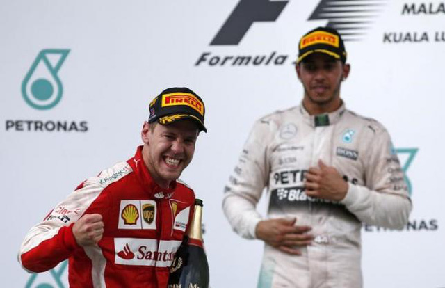 Sebastian Vettel đang là tay đua có mức lương cao nhất thế giới với 150 triệu bảng/3 năm