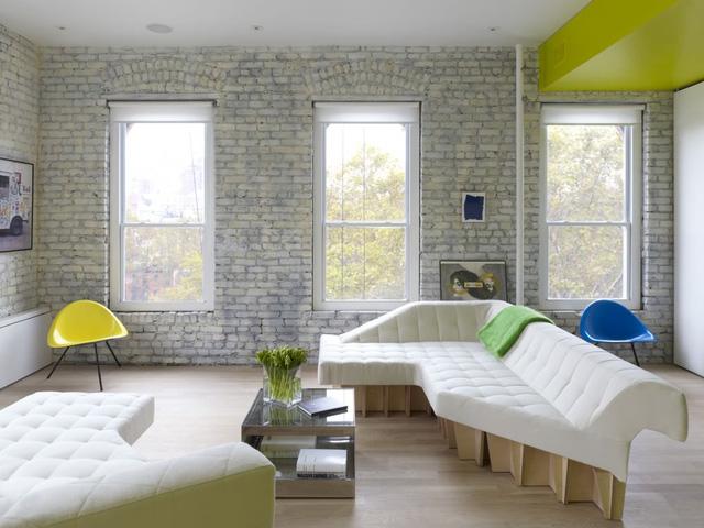 Tọa lạc tại khu Chinatown của New York, căn hộ xinh xắn gây ấn tượng bởi thiết kế rất đặc biệt