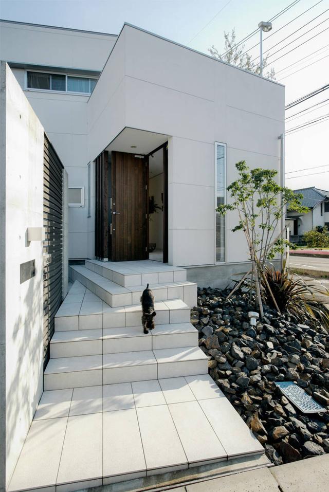 Ngôi nhà gây chú ý với phong cách thiết kế độc đáo, mới lạ