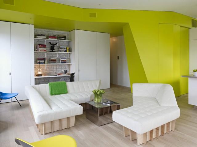 Dù chỉ sở hữu diện tích 70m2 nhưng nhờ bố trí nội thất hợp lý, căn hộ trở nên vô cùng rộng rãi