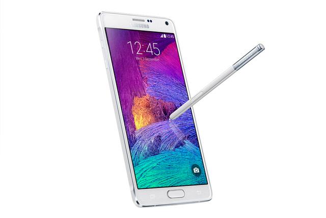 Samsung Galaxy Note 4 được trang bị bút cảm ứng Stylus