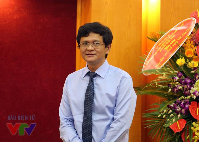 TGĐ Trần Bình Minh cho biết toàn bộ cán bộ biên tập viên, phóng viên của Đài Truyền hình Việt Nam đang nỗ lực để duy trì vị thế của một đài truyền hình quốc gia