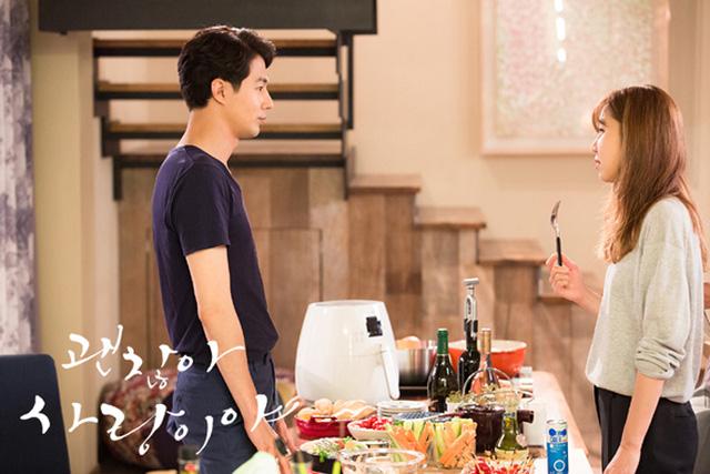 Jo In Sung và Gong Hyo Jin trong phim truyền hình