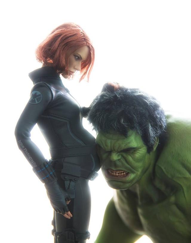 Thậm chí Black Widow còn mang thai đứa con của Hulk