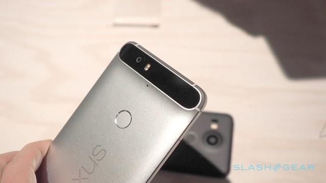 Nexus 6P sở hữu thiết kế camera sau khá ấn tượng (Ảnh: Slash Gear)