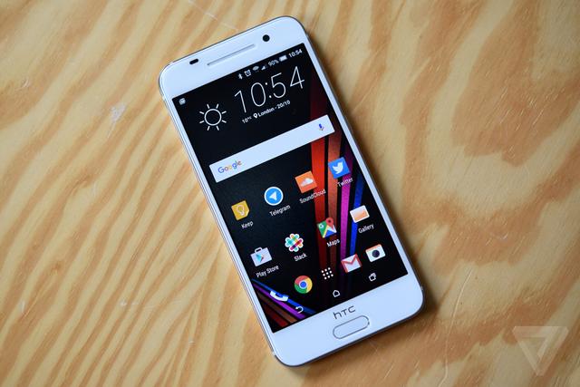 HTC One A9 sở hữu màn hình 5 inch