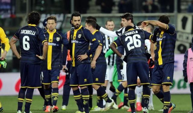 Parma có nguy cơ bị đẩy xuống giải nghiệp dư