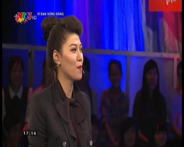 MC - BTV Ngọc Trinh tham gia chương trình Vì bạn xứng đáng ngày 22/2/2015